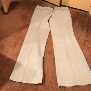 Express Grey Pinstripe pants.